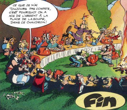 Issu de Astérix et le chaudron de  René Goscinny & Albert Uderzo